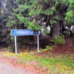 Opastus Jyrankylän risteys