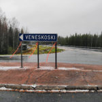 Opastus Venesjärven risteys
