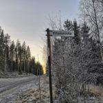 Parkano Vahojarvi opaste Vahojärventie Ylilammentie