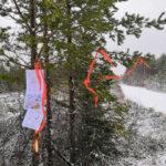 Parkano Koskenkylä kuvio 27 opaste